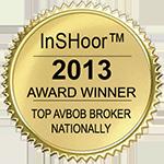 InSHoor Award Seal 2013 - AVBOB